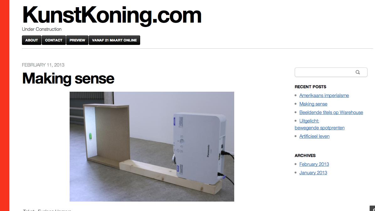 Screenshot Kunstkoning