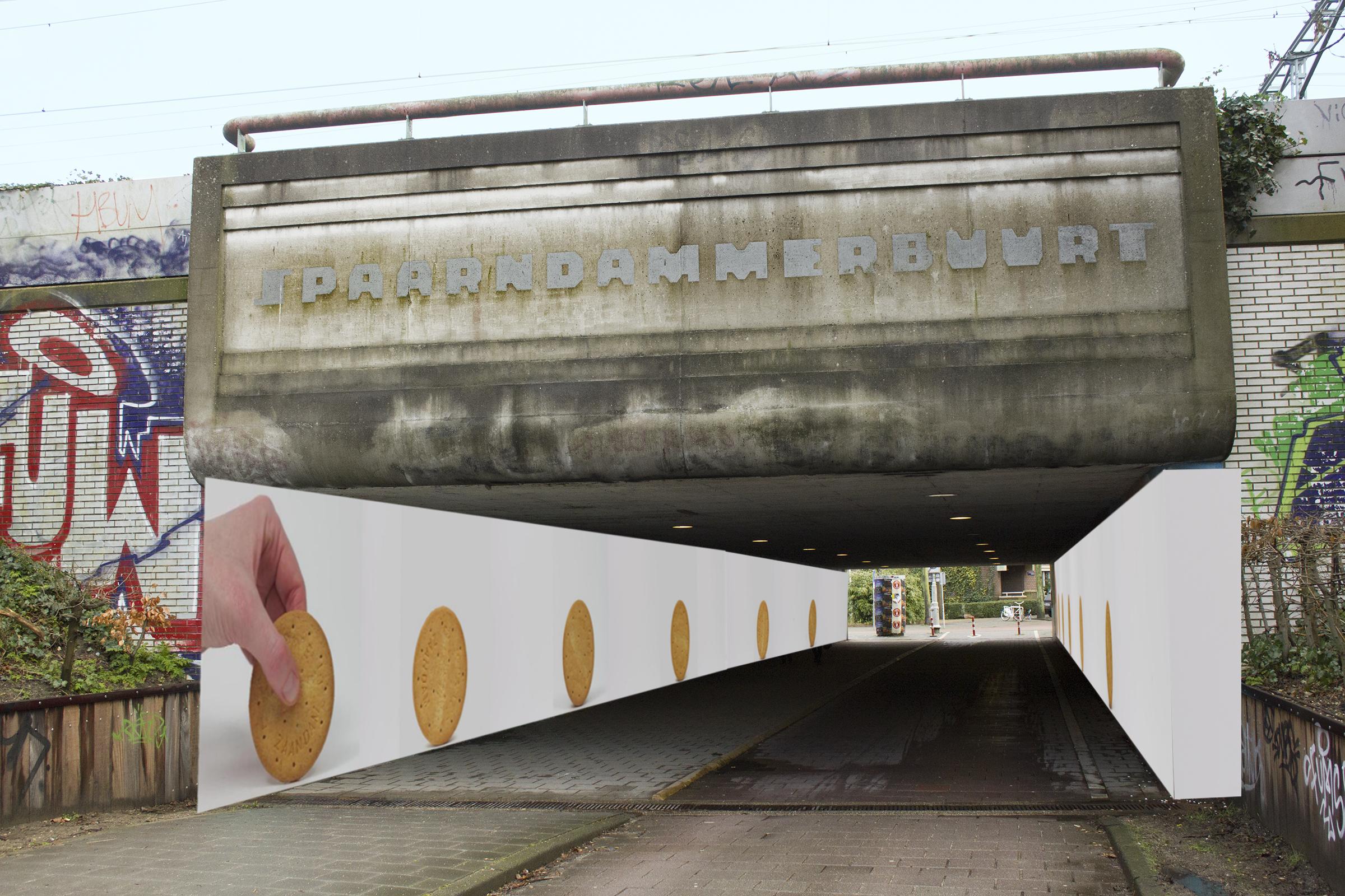 Koekjestunnel_Tunneltje Westerpark_MariekeGelissen_overzicht